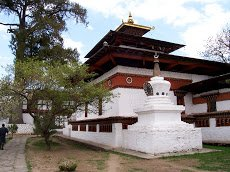 Visiting a Bhutanese Dzong, the regional seat of both government and religion (and a fort for good measure)